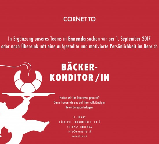 170623_Cornetto-Stelleninserat_BaeckerKonditor_Ennenda_FB