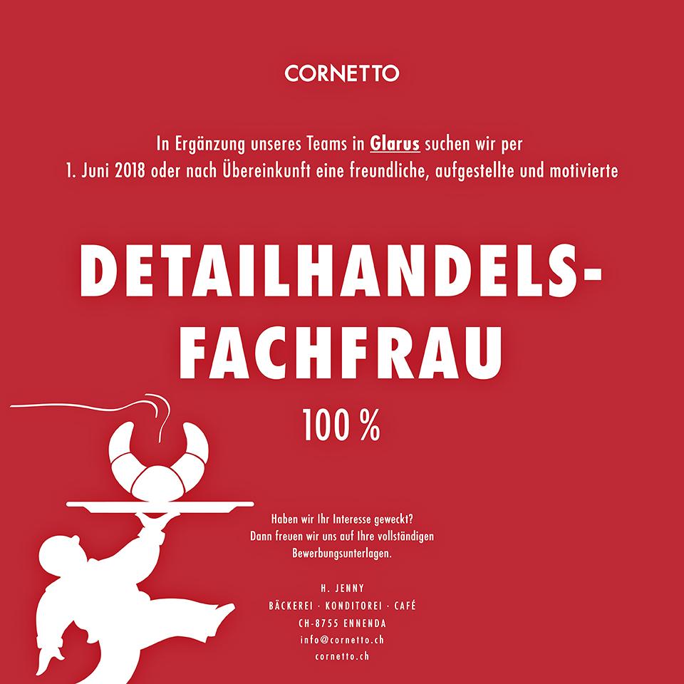 150810_Cornetto-Stelleninserat_Detailhandelsfachfrau100%_Ennenda